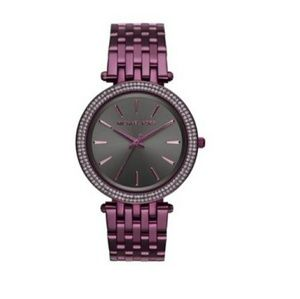 Michael Kors Darci Plum Purple Watch MK3554